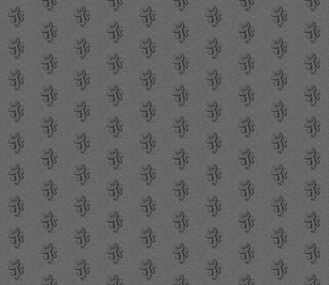 """1"""" Gryphons Dark Grey Linen Texture- Lions fabric by sugarpinedesign on Spoonflower - custom fabric"""