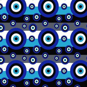 Greek Evil Eye Stripes