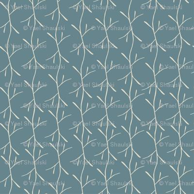 Blue Twigs