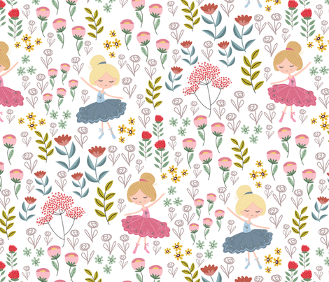 Bella fabric by se_winch on Spoonflower - custom fabric