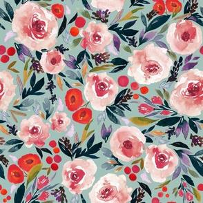 Indy bloom Design Plum Berry Blues B