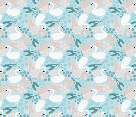 Royal Ballet fabric by amelia_kate_studio on Spoonflower - custom fabric