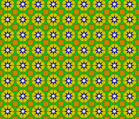 Marrakech Multi fabric by the_outfoxed on Spoonflower - custom fabric
