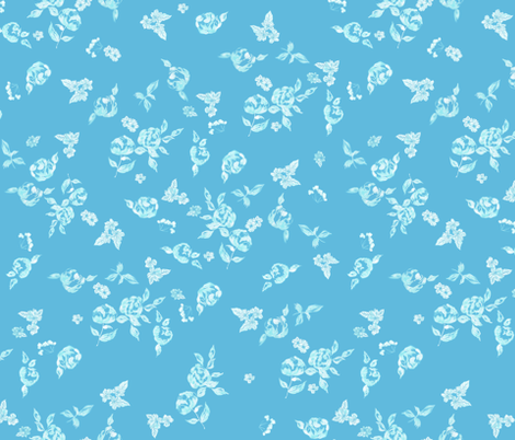 floral-392 fabric by t_textile_design on Spoonflower - custom fabric