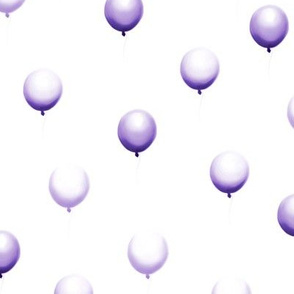 Balloon rain, purple