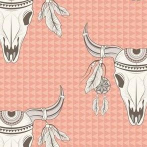 Boho Desert Skull
