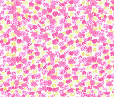 floral-410 fabric by t_textile_design on Spoonflower - custom fabric