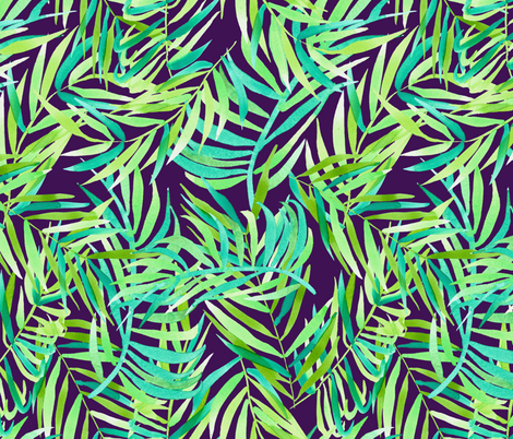 tropical-297 fabric by t_textile_design on Spoonflower - custom fabric