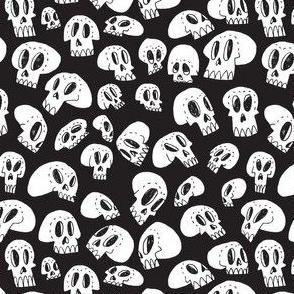 Skull friends (black)