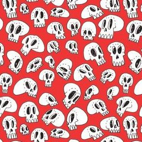 Skull Friends (red)