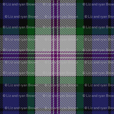 Clan Baird Dress Tartan // Small