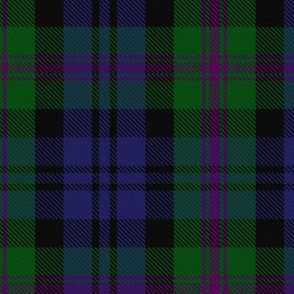 Clan Baird Hunting Tartan // Large