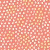Grungy Dots - Pink
