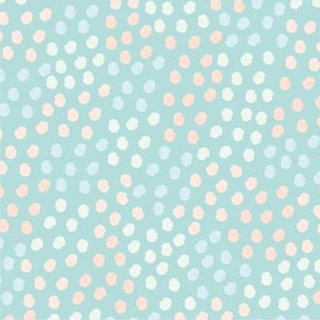 Grungy Dots Pastel