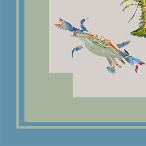Heathers Shellfish_Scarf36 inch blue