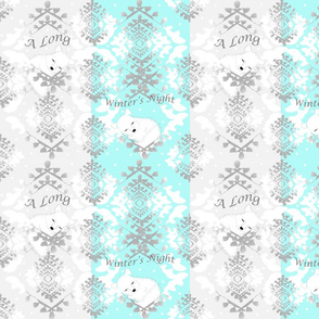 Artic Foxes Lullaby-Baby Aqua