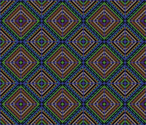 kilim diamond n 6x6 fabric by leroyj on Spoonflower - custom fabric