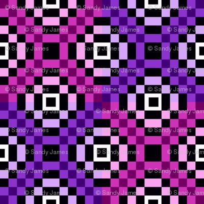 kilim pinks 6x6