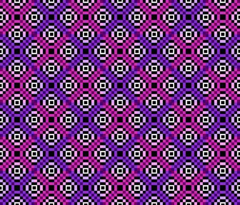 kilim pinks 6x6 fabric by leroyj on Spoonflower - custom fabric