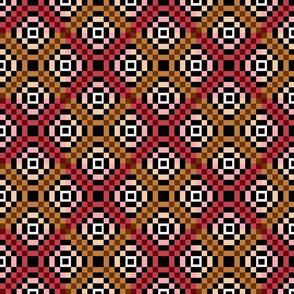 kilim reds 8x8