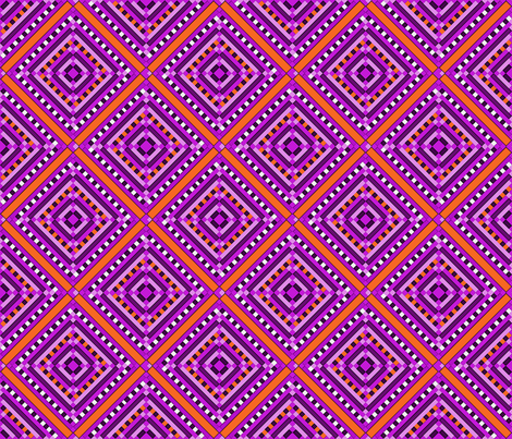 kilim diamond e 6x6 fabric by leroyj on Spoonflower - custom fabric