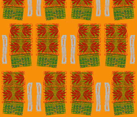 Digital Block Print fabric by meredith88 on Spoonflower - custom fabric