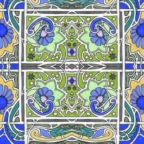 Squarer Tiles and Gardens