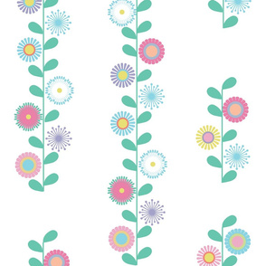 Colourful Flowers String
