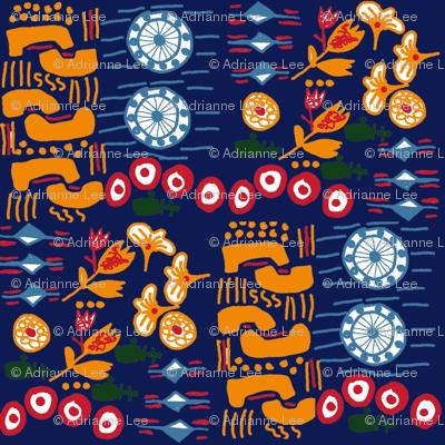 African_Pattern900Blue