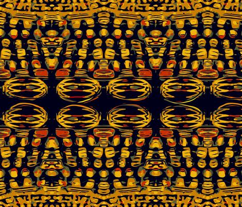 African Millefiori Beads by kedoki fabric by kedoki on Spoonflower - custom fabric