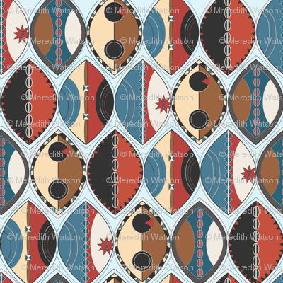 Maasai Shields