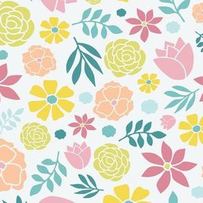 Floral Pattern - light background