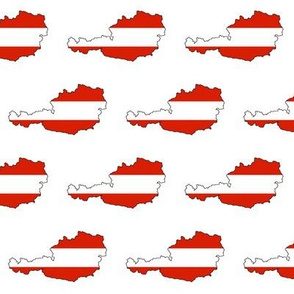 Austrian Flag Overlay // Small