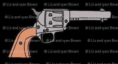 Guns on Black
