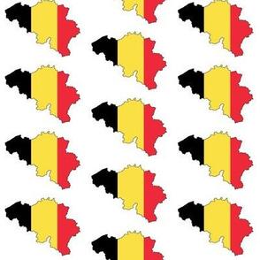 Belgian Flag Overlay