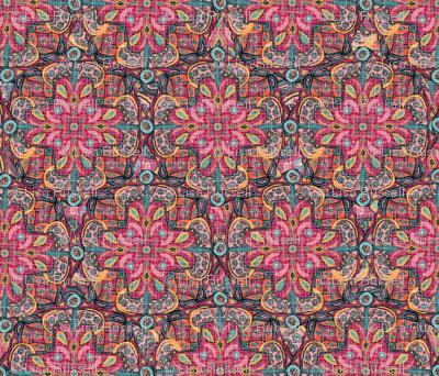 Kilim Mandala