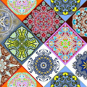 Spanish Tile Quilt 2