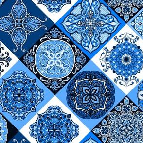 Spanish Tile Quilt 1