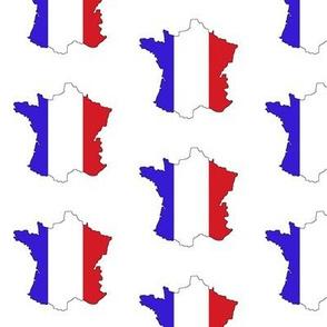 France Flag Overlay