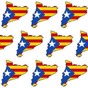 Catalonian Flag Overlay