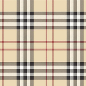 British Plaid Large Scale