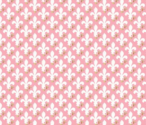 Fleur de Lis fabric by julie_nutting on Spoonflower - custom fabric