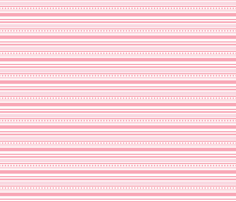 Pink Stripe fabric by julie_nutting on Spoonflower - custom fabric