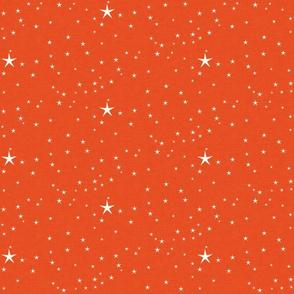 Narwhal coordinated sea stars orange