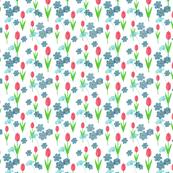 Winter Coloured Florals