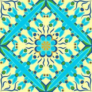 Spanish Tile 4 Flat
