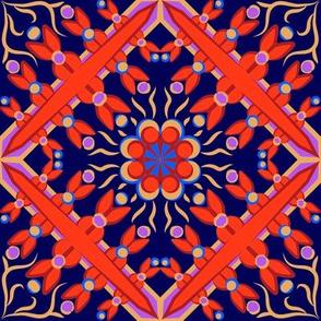 Spanish Tile 5 Flat