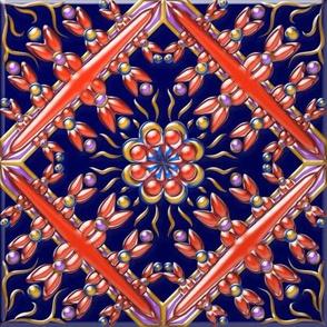 Spanish Tile 5 3-D