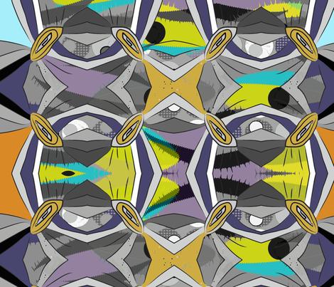 A Celebration of Rhythms fabric by zigzagmlt on Spoonflower - custom fabric