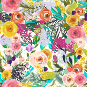 Autumn Blooms - GIANT // Bright
